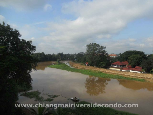 Large, bright, relaxing, amazing river views. Chiang Mai Condo for Sale.